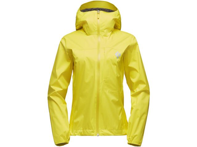 Black Diamond Fineline Naiset takki , keltainen